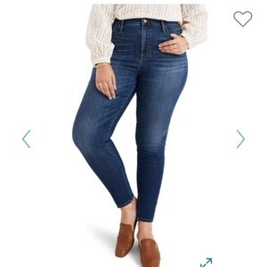"NWT Madewell 10"" High Rise Skinny Jeans"